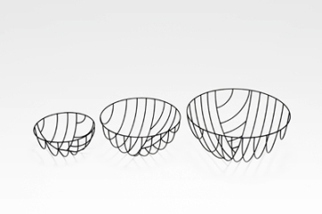 Bowls, Think Black Lines series by Nendo