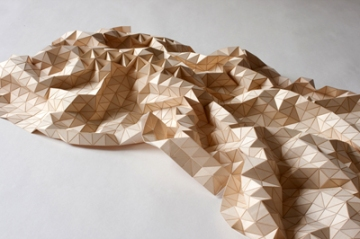 Wooden Textile by Elisa Strozyk
