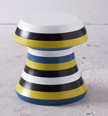Forrest, stool-side table by Spyros Drakos